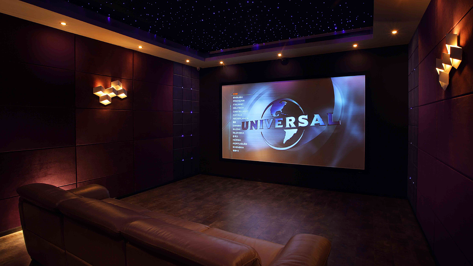 映画を見られる部屋