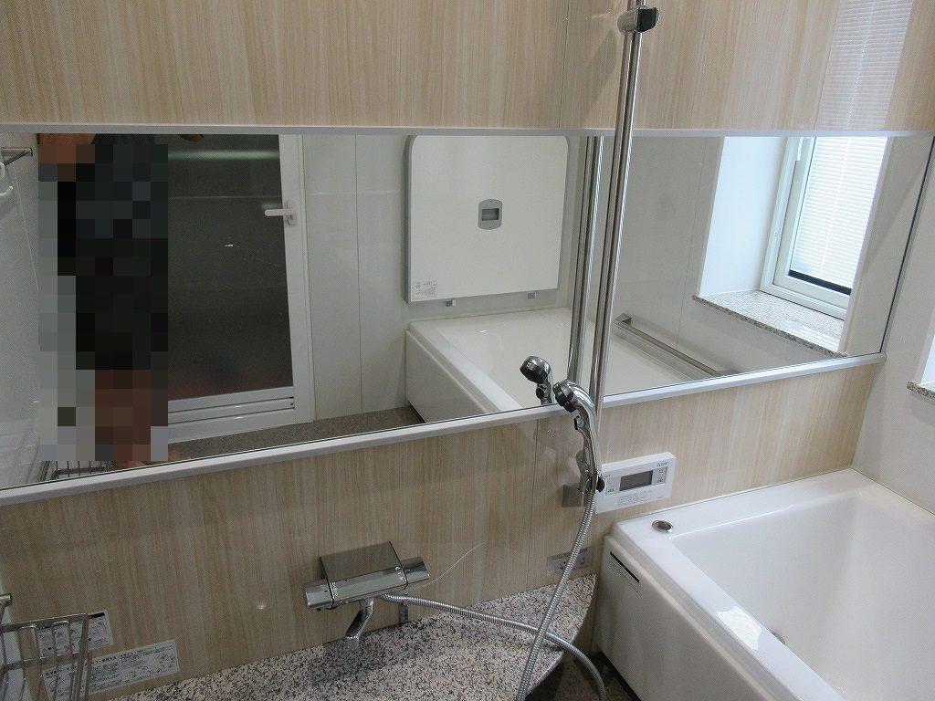 一条工務店i-smart浴室鏡