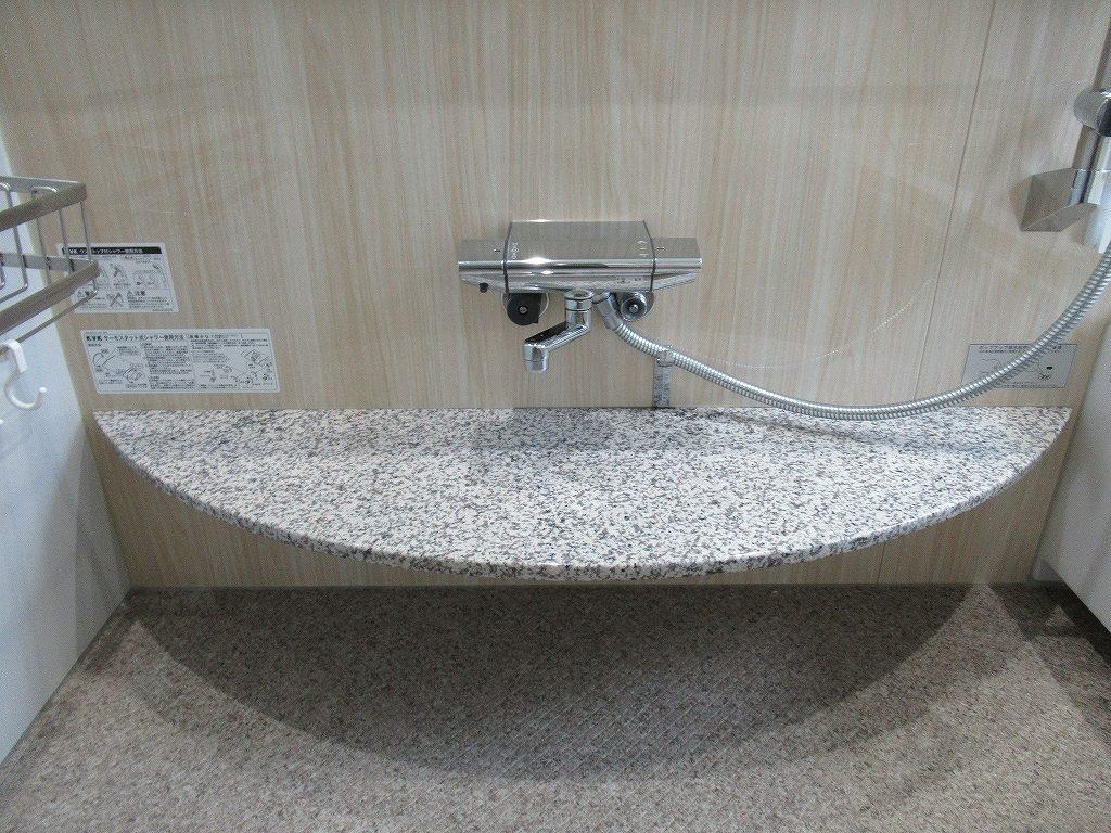 一条工務店i-smart浴室カウンター