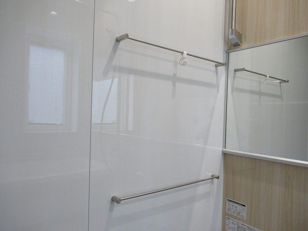 一条工務店i-smart浴室タオル掛け