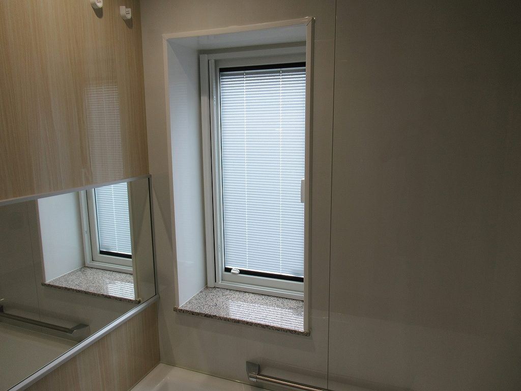 一条工務店i-smart浴室窓