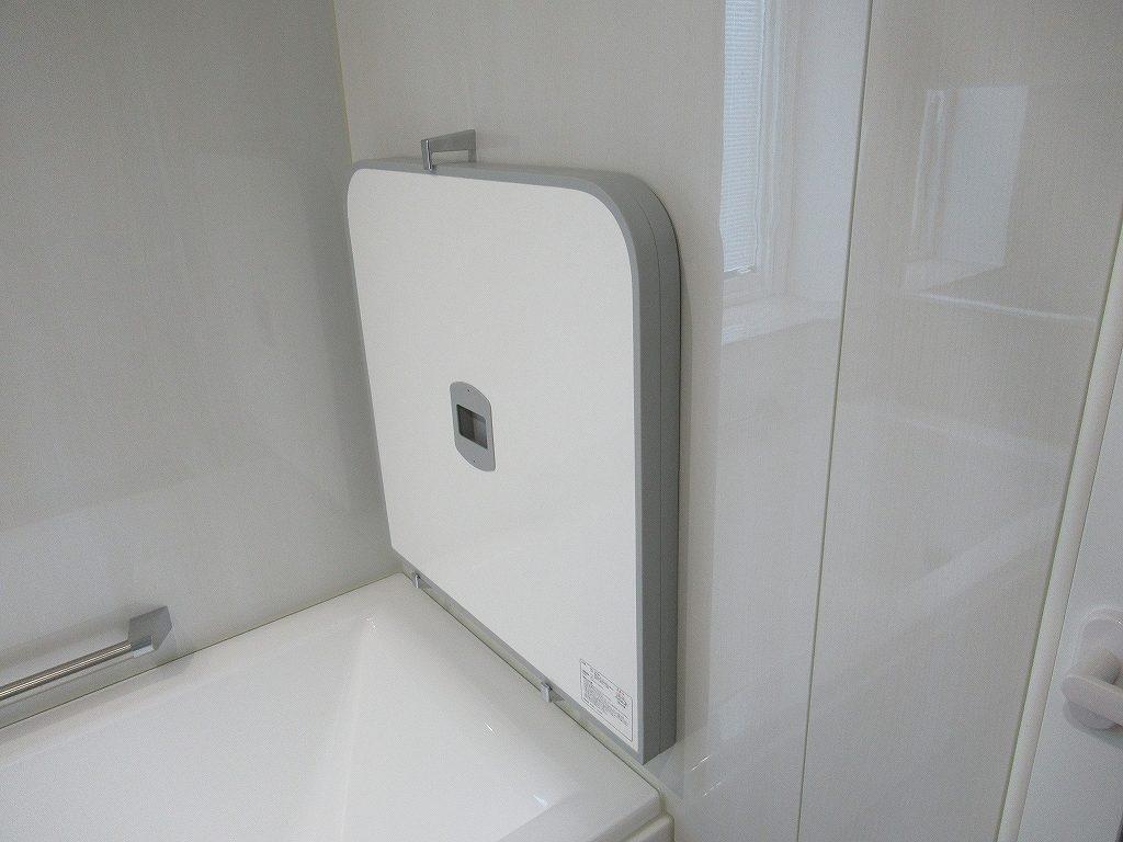 一条工務店i-smart浴室蓋収納