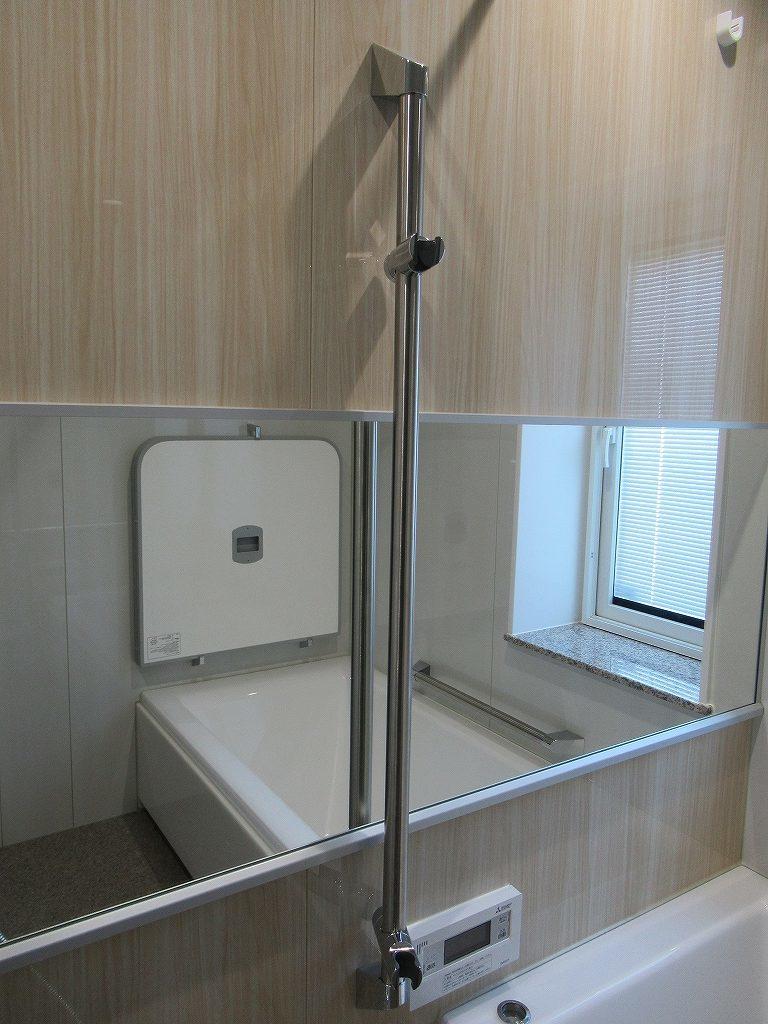 一条工務店i-smart浴室シャワーレール