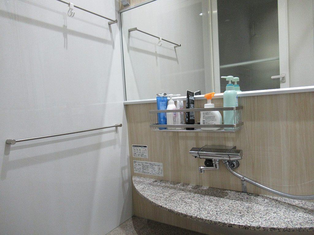 一条工務店i-smart浴室ステンレスラック