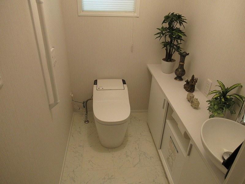 1.5帖のトイレ