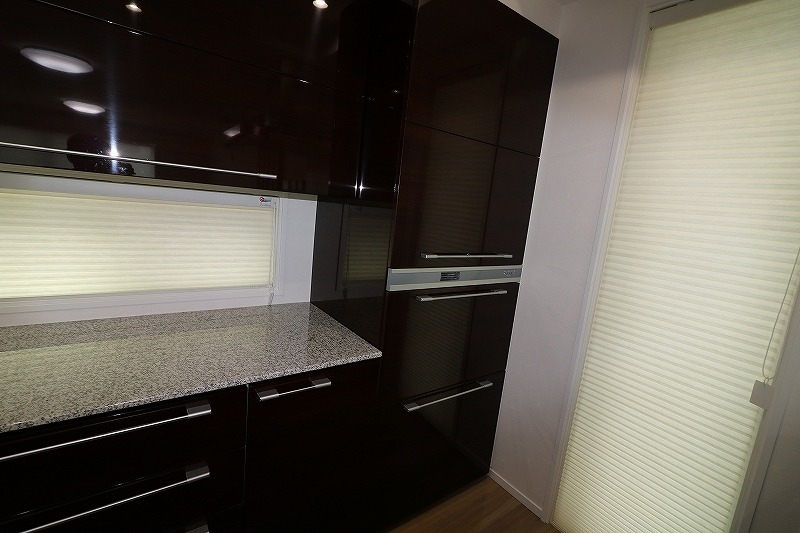 家電収納カップボード
