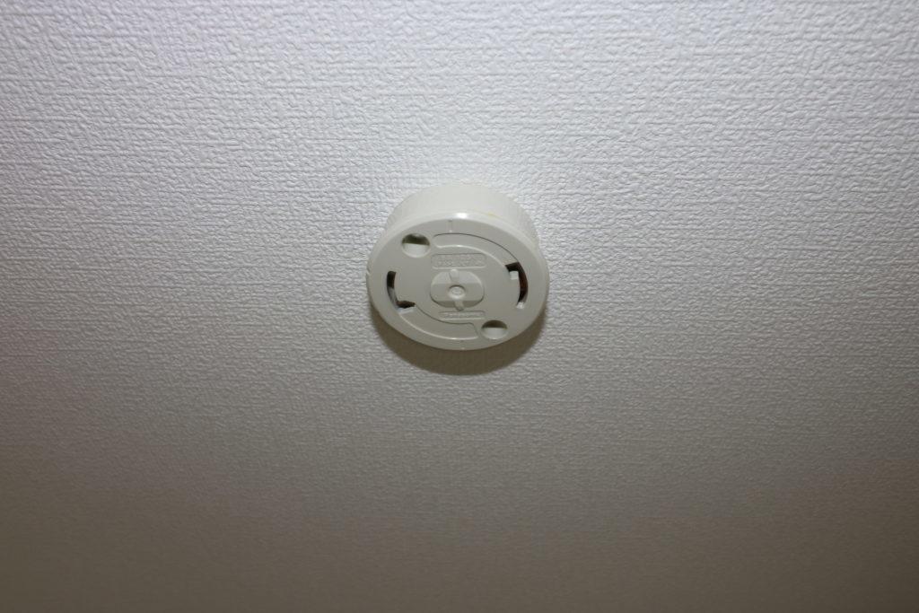 天井のシーリングローゼット